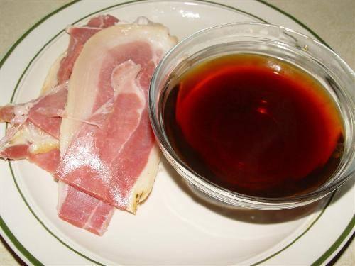 Производный соус от красного основного