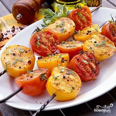 Шашлык из помидоров