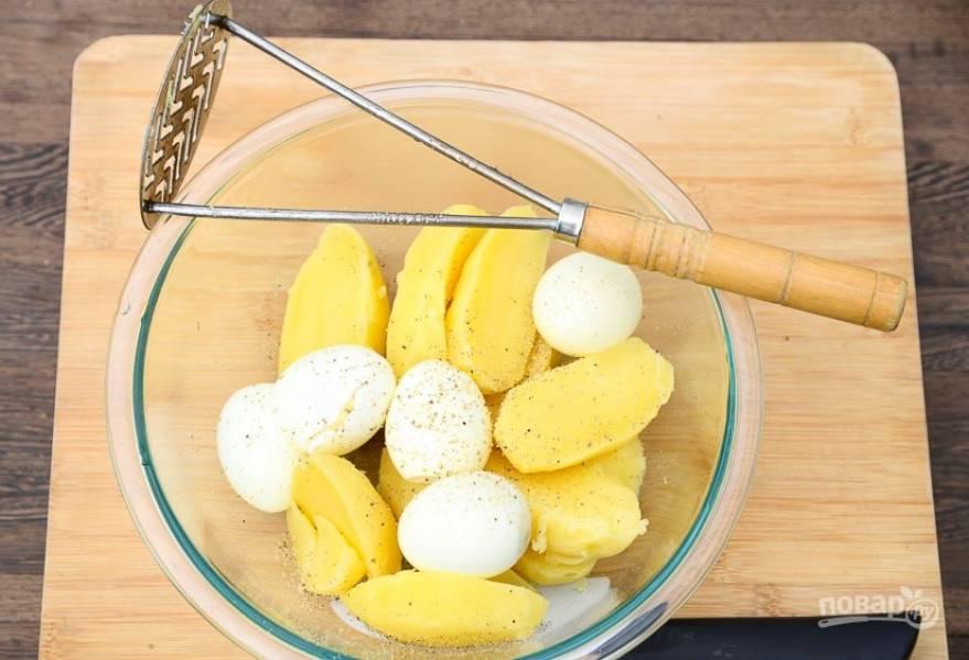 Пюре картофельное с яйцом - пошаговый рецепт с фото на