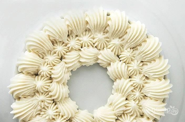 Сливочный крем для украшения торта - пошаговый рецепт