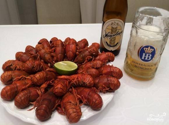 Раки под пиво