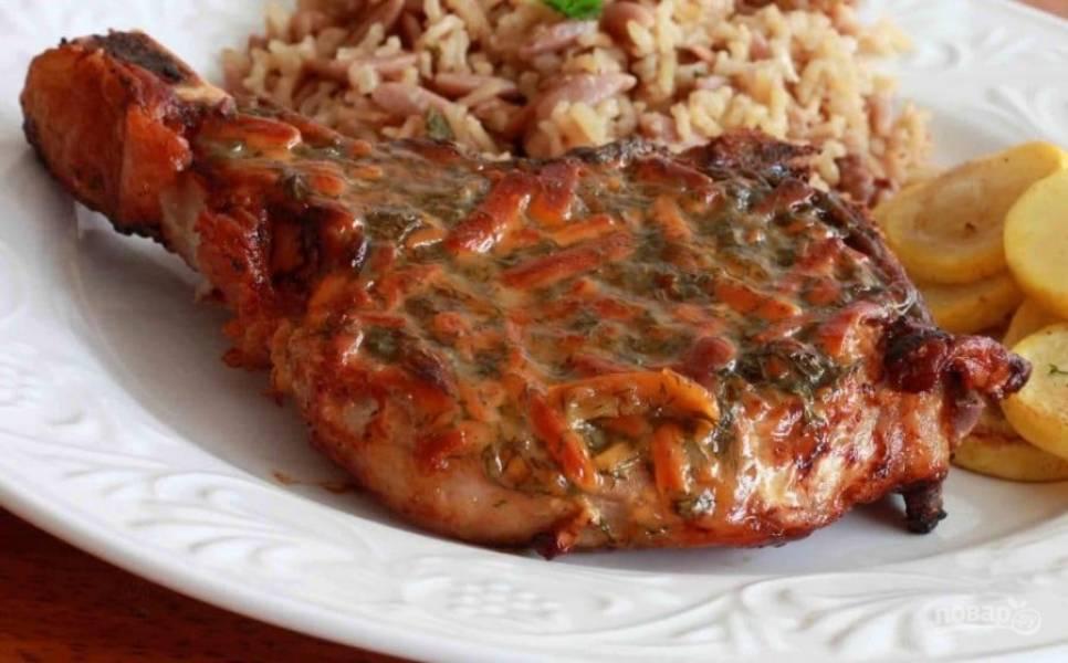 9.Подавайте блюдо сразу после приготовления, приятного аппетита!