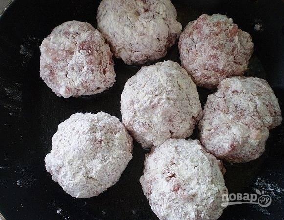 Тефтели, запеченные в духовке в сметанном соусе - пошаговый рецепт с фото на