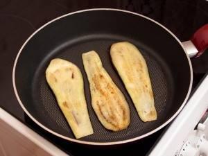 Канапе из баклажанов - пошаговый рецепт