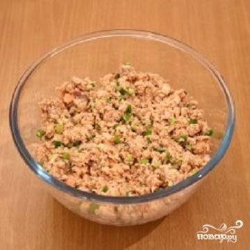 Пирог с консервированной рыбой - пошаговый рецепт