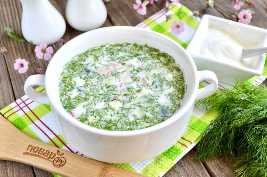 8 рецептов холодных супов