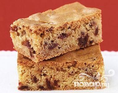 Пирожные с орехами пекан