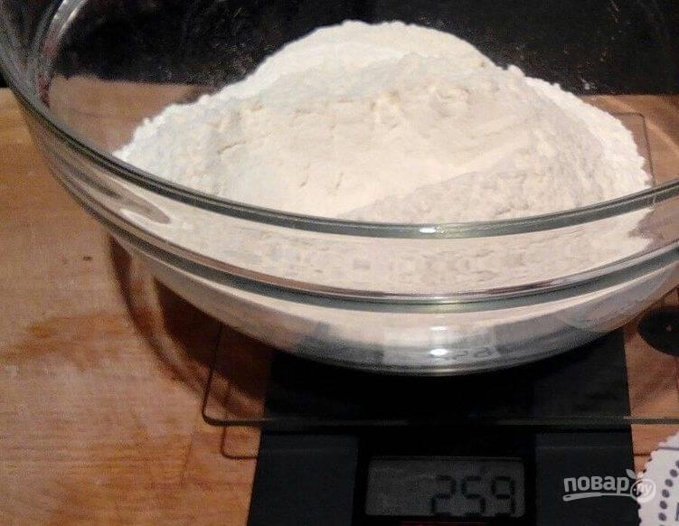 Тонкое тесто для пиццы без дрожжей - пошаговый рецепт