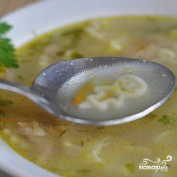 Фасолевый суп с курицей - пошаговый рецепт с фото на