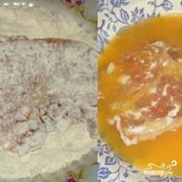 Антрекот из свинины - пошаговый рецепт