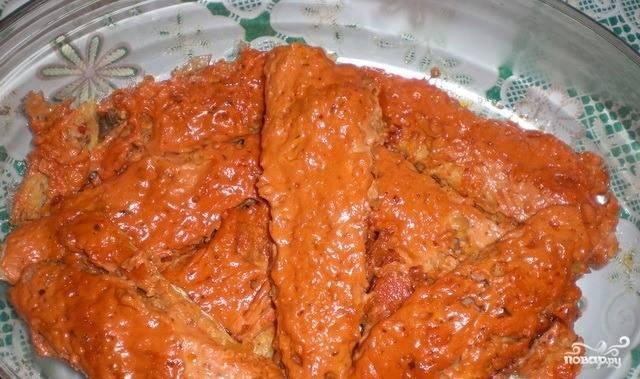 Рыба в фольге в духовке рецепт хек