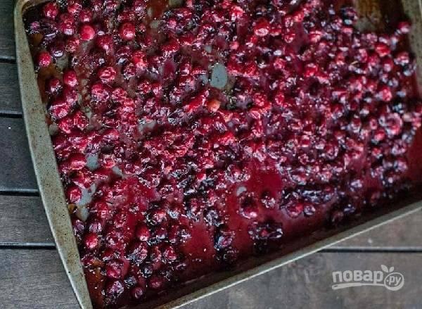 Кростини с запеченной клюквой - пошаговый рецепт с фото на
