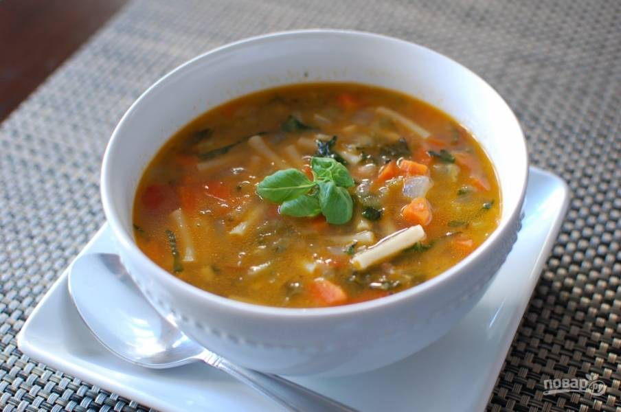 Минестроне (суп из овощей)
