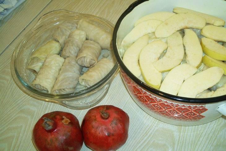 Долма из капусты - пошаговый рецепт