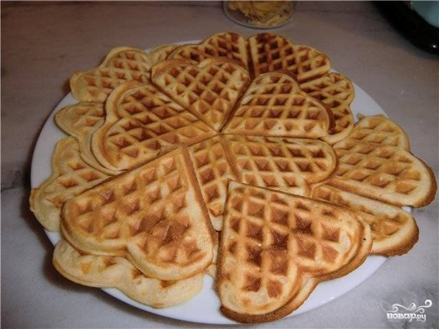 Американские вафли - пошаговый рецепт с фото на