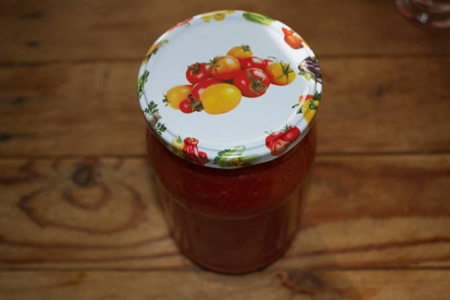 Аджика из красного перца - пошаговый рецепт