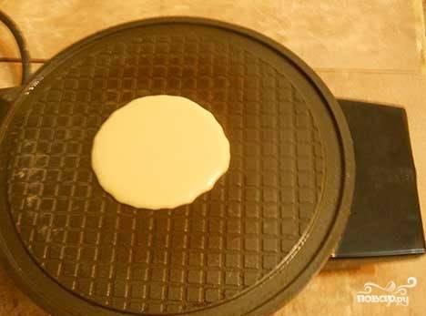 Вафельный рожок - пошаговый рецепт
