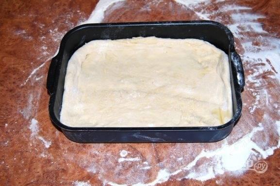 Пицца из пирожкового теста - пошаговый рецепт