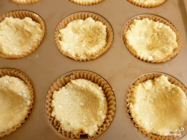 Творожные кексы в духовке - пошаговый рецепт с фото на