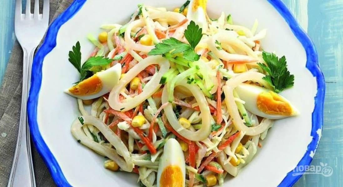 Салат с куриной печенью и солеными огурцами рецепт с пошагово