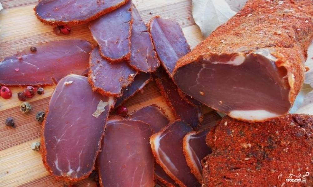 Как сделать сушёное мясо