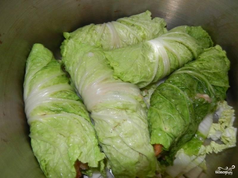 Голубцы из пекинской капусты - пошаговый рецепт