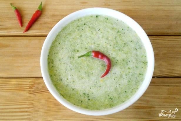 Сыроедческий суп-пюре