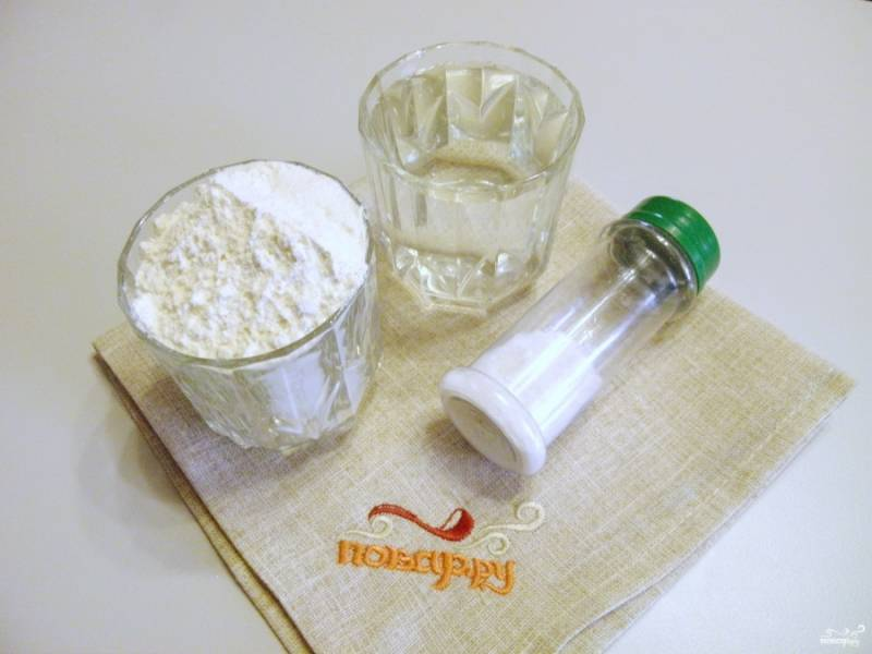 Постное тесто для вареников - пошаговый рецепт с фото на