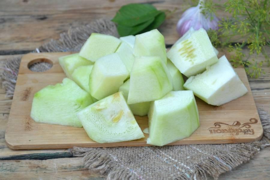 Малосольные кабачки быстрого приготовления - пошаговый рецепт