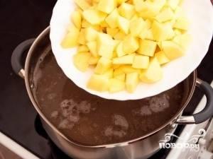 Постный суп с фасолью - пошаговый рецепт