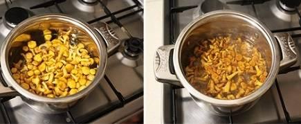Жареные лисички со сливками - пошаговый рецепт с фото на