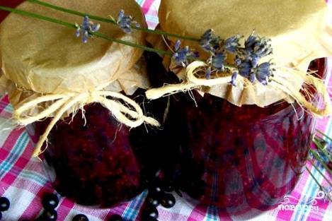 Варенье из смородины без варки