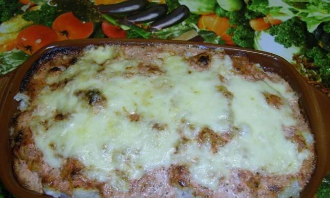 Пангасиус с рисом в духовке - пошаговый рецепт
