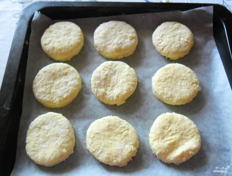 Быстрое печенье из творога - пошаговый рецепт