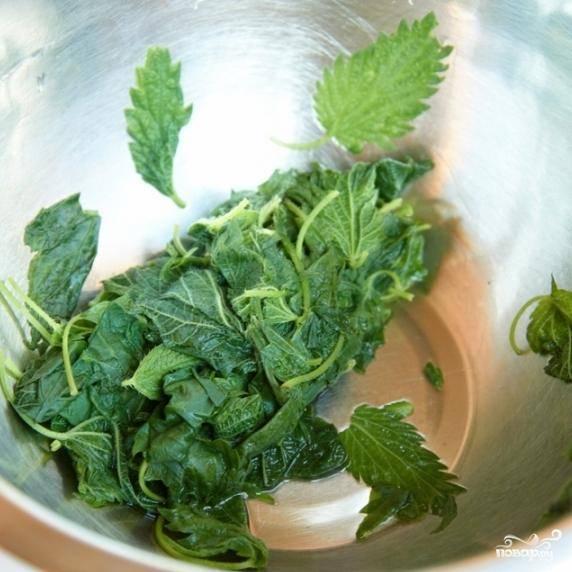 Гренки с крапивой - пошаговый рецепт