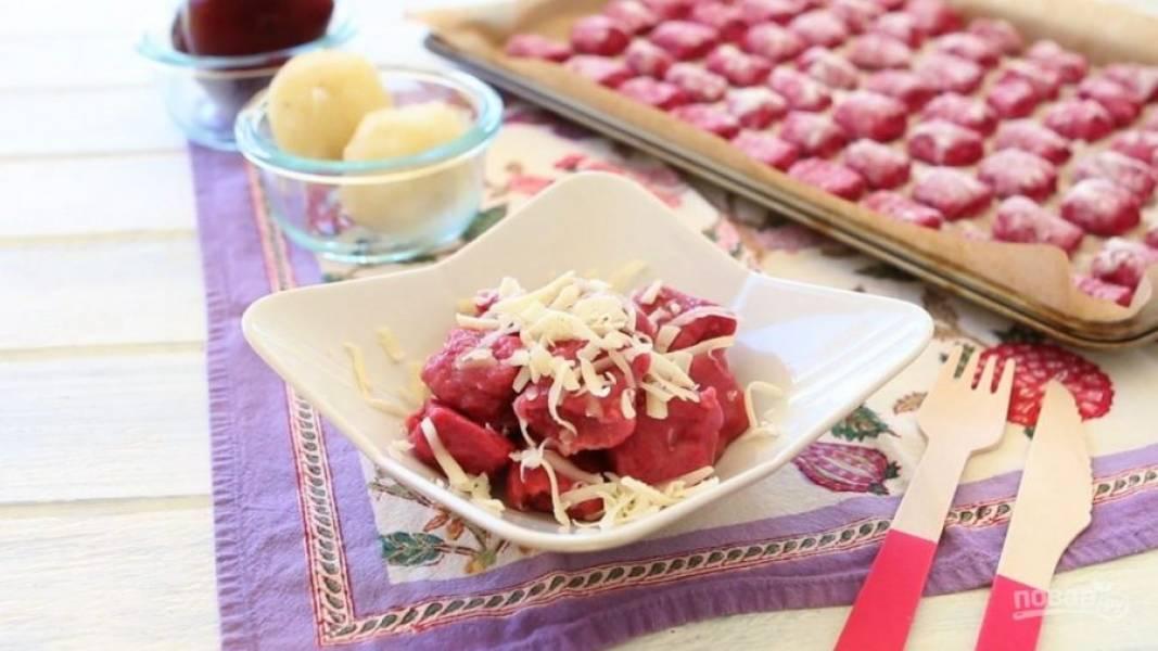 Клёцки из свеклы - пошаговый рецепт с фото на