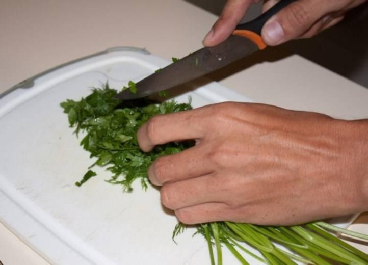 Куриная грудка в омлете - пошаговый рецепт с фото на