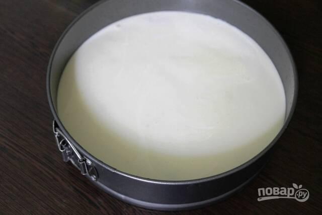 Торт бисквитный с желе - пошаговый рецепт с фото на