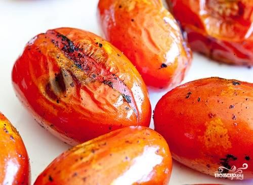 Канапе с помидорами - пошаговый рецепт