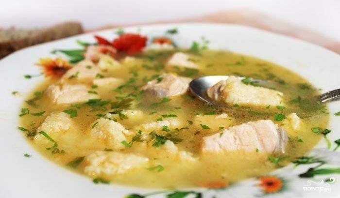 Рыбный суп из кижуча