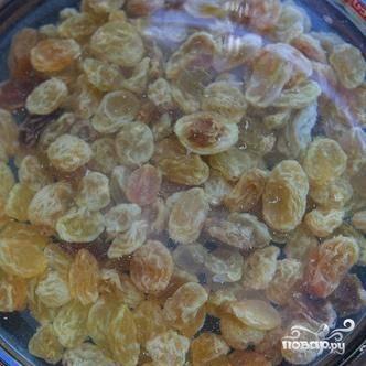 Капуста кале с изюмом и орехами - пошаговый рецепт
