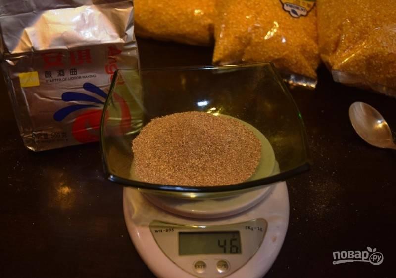 Кукурузная крупа на кодзи - пошаговый рецепт