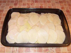 Камбала в духовке с картошкой - пошаговый рецепт с фото на