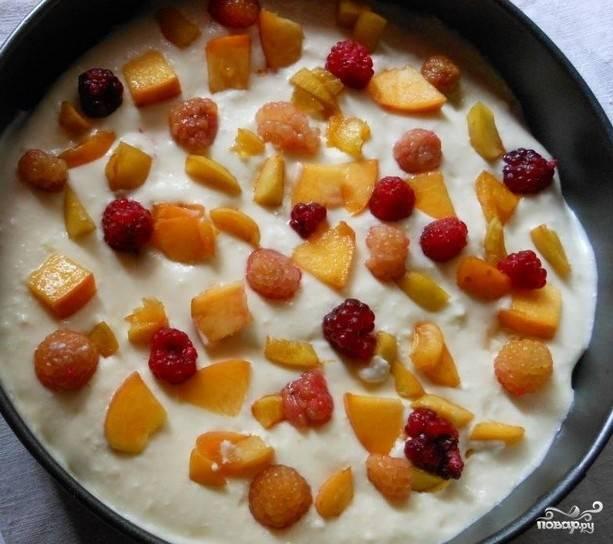 Бисквитно-творожный торт - пошаговый рецепт