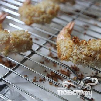 Креветки в кокосовой панировке с ананасовой сальсой - пошаговый рецепт с фото на