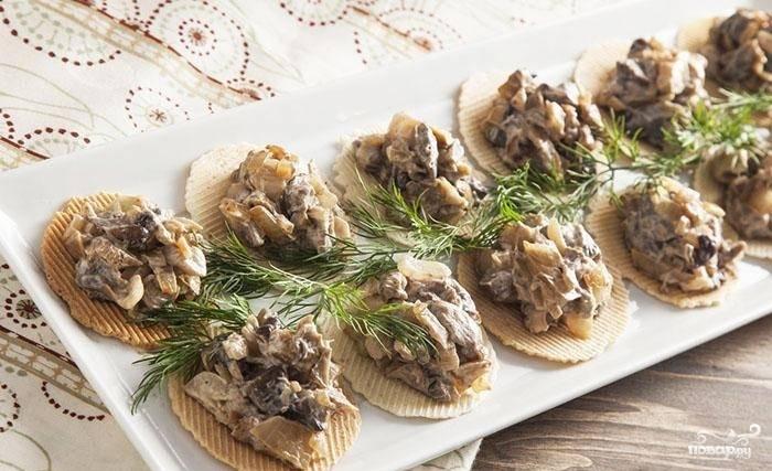 Грибная икра из замороженных грибов - пошаговый рецепт