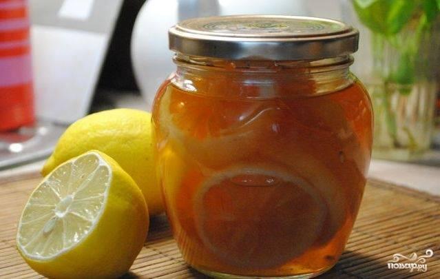 Варенье из лимонов без кожуры