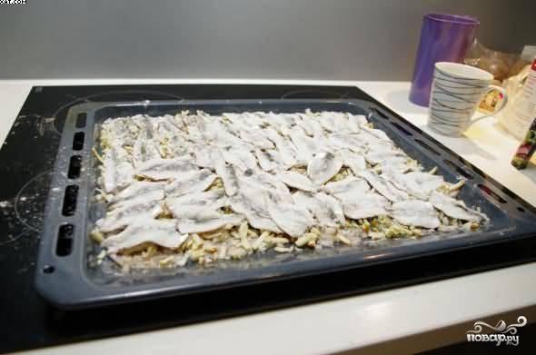 Салака запеченная - пошаговый рецепт с фото на