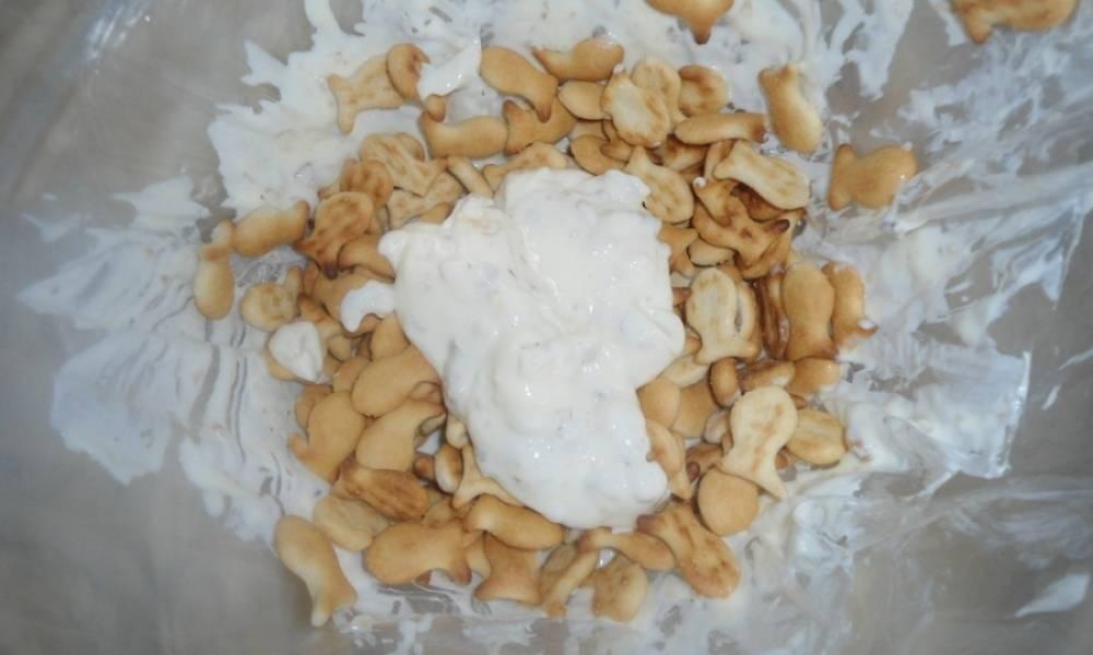Торт из крекеров без выпечки - пошаговый рецепт с фото на