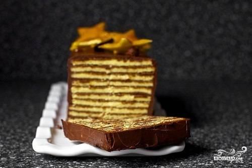 Венгерский торт Добош